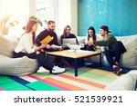 creative staff of graphic... | Shutterstock . vector #521539921