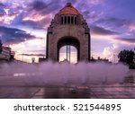 monument to the mexican... | Shutterstock . vector #521544895