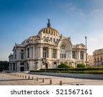 palacio de bellas artes  fine...   Shutterstock . vector #521567161
