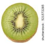 Juicy Kiwi Fruit Isolated On...