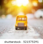 Yellow School Bus Plastic And...