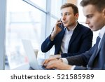 working call | Shutterstock . vector #521585989