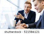 co working managers | Shutterstock . vector #521586121