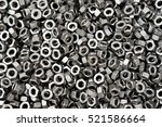 Screw  Bolt And Nut In Black...