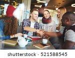 designers handshaking | Shutterstock . vector #521588545
