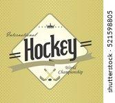 sport badge label   Shutterstock . vector #521598805