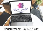 loan mortgage payment property...   Shutterstock . vector #521614939