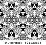 ethnic design. striped... | Shutterstock . vector #521620885