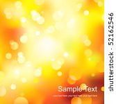 abstract yellow light... | Shutterstock .eps vector #52162546