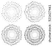 abstract circular element ...