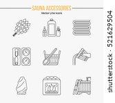 modern editable stroke vector... | Shutterstock .eps vector #521629504
