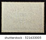 old grunge posted stamp reverse ... | Shutterstock . vector #521633005