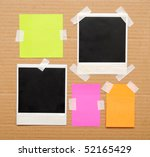 colorful empty notes fnd photo... | Shutterstock . vector #52165429
