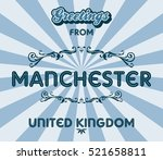 tourism greeting england... | Shutterstock . vector #521658811