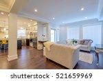 interior design of a luxury... | Shutterstock . vector #521659969