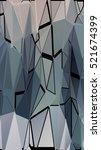 randomly scattered triangles of ...   Shutterstock .eps vector #521674399