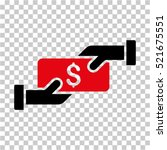 payment icon. vector pictogram... | Shutterstock .eps vector #521675551