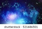 deep space. high definition... | Shutterstock . vector #521686501
