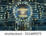 internet of things  iot  and... | Shutterstock . vector #521689075