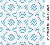 seamless geometric pattern....   Shutterstock .eps vector #521691805