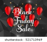 abstract vector black friday... | Shutterstock .eps vector #521713969