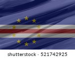 cape verde painted   drawn... | Shutterstock .eps vector #521742925