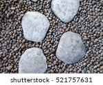 Big White Stone Walk Way On Th...