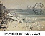 Beaches Of Tel Aviv. Old Quay...