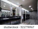 contemporary interior of public ... | Shutterstock . vector #521778967
