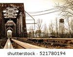 Railroad Bridge Crossing A...