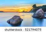 landscape sunrise on hon chong... | Shutterstock . vector #521794075