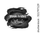 lettering black friday sale on...   Shutterstock .eps vector #521797129