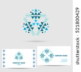 vector icon design logo element ... | Shutterstock .eps vector #521800429