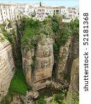 Ronda Canyon  Spain Andalousia