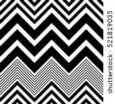 seamless zig zag pattern.... | Shutterstock .eps vector #521819035
