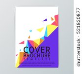 abstract cover background...   Shutterstock .eps vector #521820877