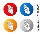 vector corn free symbols... | Shutterstock .eps vector #521832451