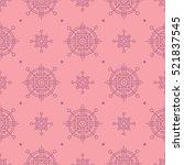 vector seamless pattern. modern ... | Shutterstock .eps vector #521837545