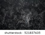 black stone texture background  ... | Shutterstock . vector #521837635