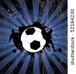 football poster | Shutterstock .eps vector #52184230
