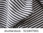crumpled cloth close up. fabric ... | Shutterstock . vector #521847001