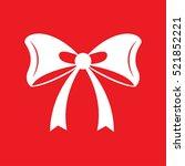 bow icon vector illustration | Shutterstock .eps vector #521852221