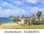 Tel Aviv City Coastline. View...