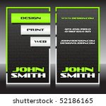 business card 42 | Shutterstock .eps vector #52186165