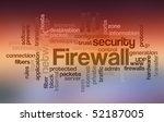 firewall   word cloud   Shutterstock . vector #52187005