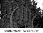 auschwitz birkenau... | Shutterstock . vector #521871349