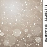 vector background with circles | Shutterstock .eps vector #521883541