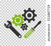 mechanics tools icon. vector...