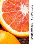 delicious oranges  very good... | Shutterstock . vector #521913619
