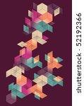 bright transparent gradient... | Shutterstock .eps vector #52192366